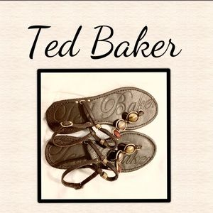 Leather Ted Baker sandals